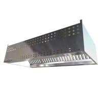 Зонт приточно-вытяжной пристенный 2700х1000х400
