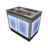 Ванна охлаждаемая для льда с парогенератором 1000х600х850
