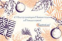 GastroLux поздравляет Вас с Наступающим Новым годом и Рождеством!